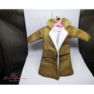 Hunter Brown Trench Coat Barbie Coat
