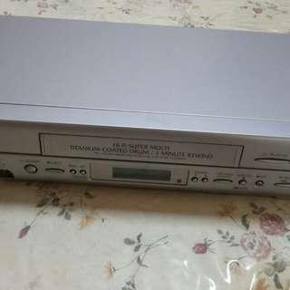 Video tape cassette recorder. VCR