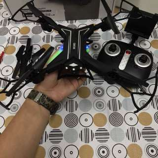 Foldable LED Drone