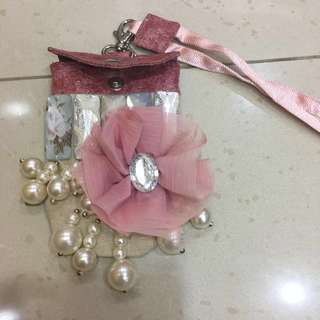Mini Feminine Floral Sling Pouch Bag