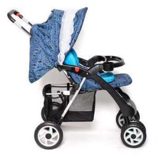Pre-loved Happy Dino Stroller with Car Seat