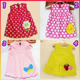🎉 1pcs RM 10🎉 5pcs RM 40 🎉 BABY DRESS 📢