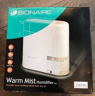 Warm Mist Humidifier 放濕機