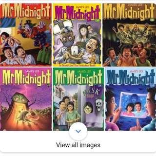 Mr Midnight + Mr Mystery Books