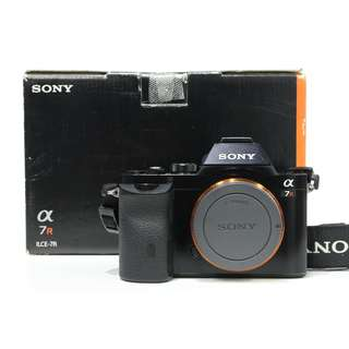 Sony A7R Mirrorless Body Only (SC. 3K+)
