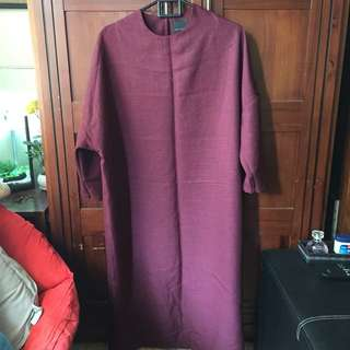 ATS The Label Maroon Maxi Dress