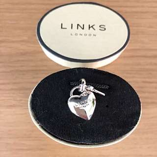 Links of London Heart Padlock Charm