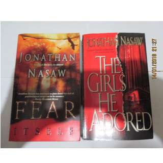 Jonathan Nasaw, Paperbacks, Pre-loved Book, Books, Softbound