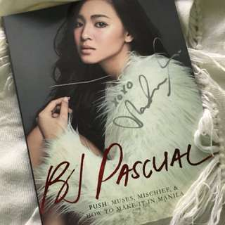 BJ Pascual with Nadine Lustre on the cover (with Nadine's Autograph)