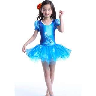 Kids Princess Ballette Dress Cinderella Tutu Skirt 2-7y