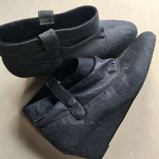 Ankle boots wedges