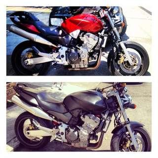 Motorbike Spray Painting - Bodykits spray - Detailing