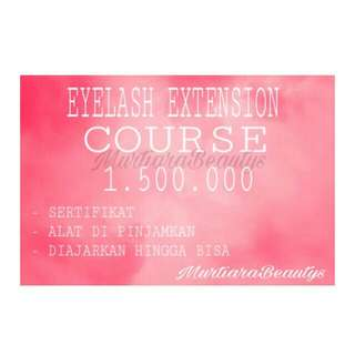 Kursus Eyelash Extention