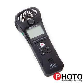 Zoom H1N Ultra-Portable Digital Audio Recorder