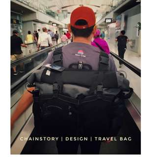 CHAINSTORY x Brompton Backpack
