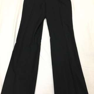G2000 lady black suit pants - straight cut