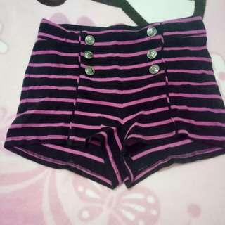 HW Stripes Button Forever 21