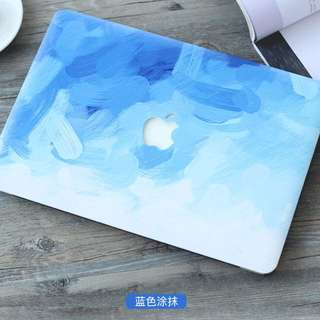 MacBook Gradient Blue Casing