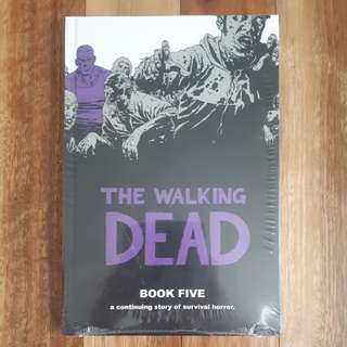 The Walking Dead Book 5 Graphic Novel