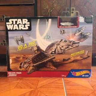 Star Wars Hot Wheels Millenium Falcon
