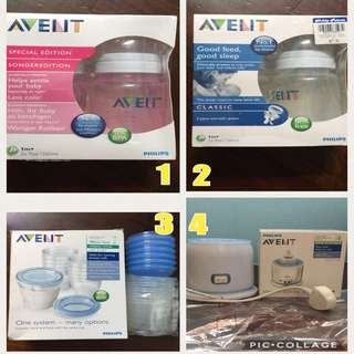 Bundle Of Philips AVENT Products