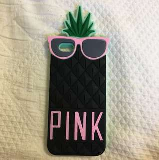 VICTORIA SECRET PINK PINEAPPLE CASE IPHONE 6/6s