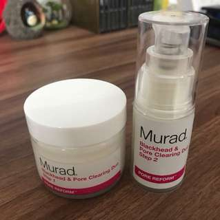 [STILL NEW] Murad Blackhead & Pore Cleaning Duo Set