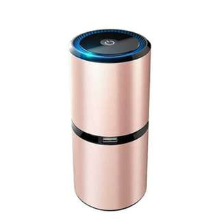 3rd Generation Car Air Purifier With 2 USB Port