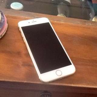WHITE/GOLD IPHONE 6