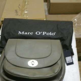 Marco Polo Gray Color Handbag 100%New