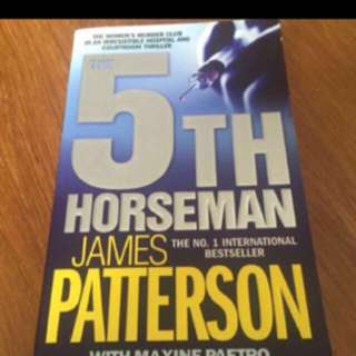 James Patterson Fifth Horsemen