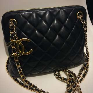 Chanel vintage chain bag maxi jumbo Woc wallet clutch backpack 背包 背囊
