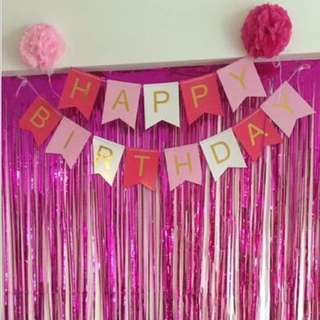 Birthday Banner [3 for $10]