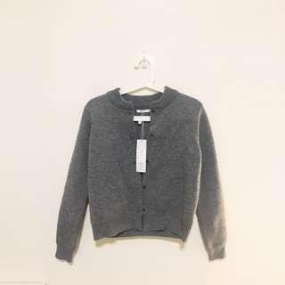 Pazzo 全新灰色針織棒球外套