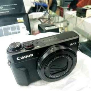 Canon G7X Mark II, kredit Mudah