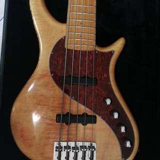 Pedulla rapture J-2 5 string bass