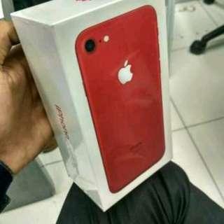 Apple iPhone 7 256GB RED Cicilan Tanpa CC