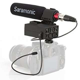 Saramonic MixMic Professional XLR Audio Adapter with Shotgun Microphone kit (preorder)