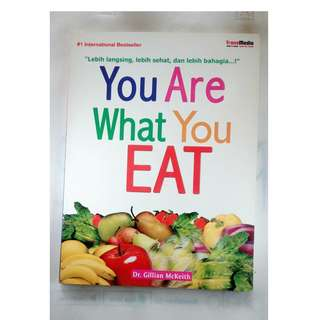 buku bekas you are what you eat bahagia dari makanan