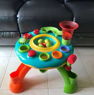 ELC Light & Sound Activity Table