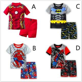 SuperHero Set Kids Casual