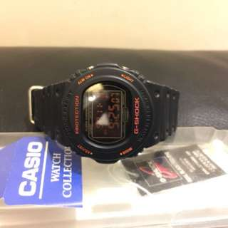Casio G-shock DW5750RE red eyes