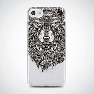 Wolf Clear Case