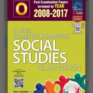 *10 YEAR SERIES* [SINGAPORE ASIA PUBLISHERS] O-LEVEL COMBINED HUMANITIES SOCIAL STUDIES YEARLY EDITION (2008-2017)