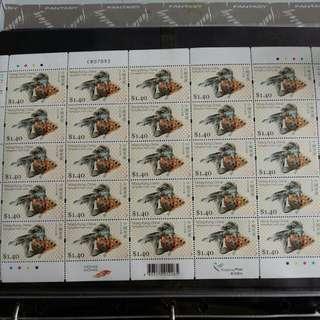 全版25個金魚郵票