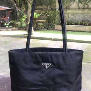 Prada Nylon Long Handle Bag