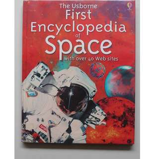 English Encyclopedia ( The Usborne First Encyclopedia of Space)