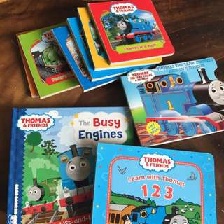 Thomas engine books collection.