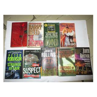 Thom Racina, Barry Reed, Rainer Rey, Anne Rice, Mary Roberts Rineheart, Gillian Roberts, Peter Robinson, Joann Ross, Sari Robins, Michael Robatham, James Rollins, Nancy Taylor Rosenberg, Judith Rossiner