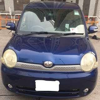 2004 深藍色TOYOTA SIENTA X-LTD